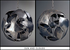 Metal Sculpture by Vermont Sculptor Alexandra Heller